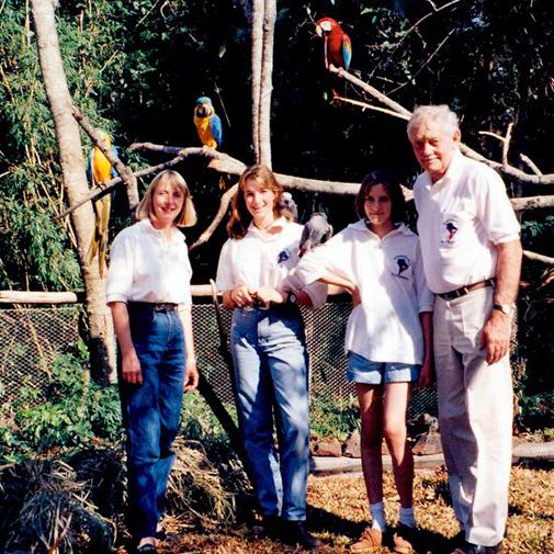 Descubra um pouco mais sobre a história do Parque das Aves.